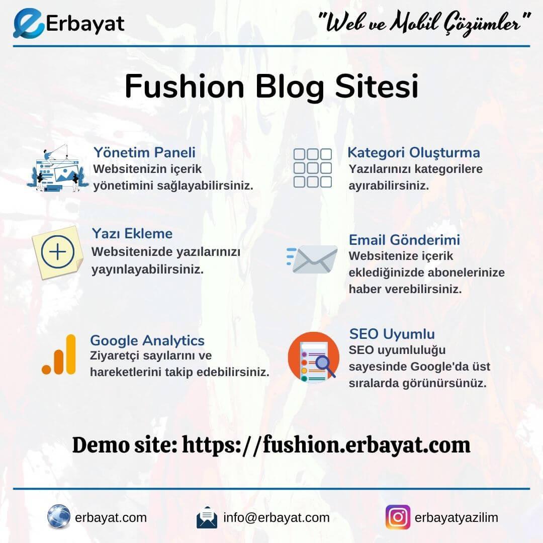 Fushion Blog Sitesi