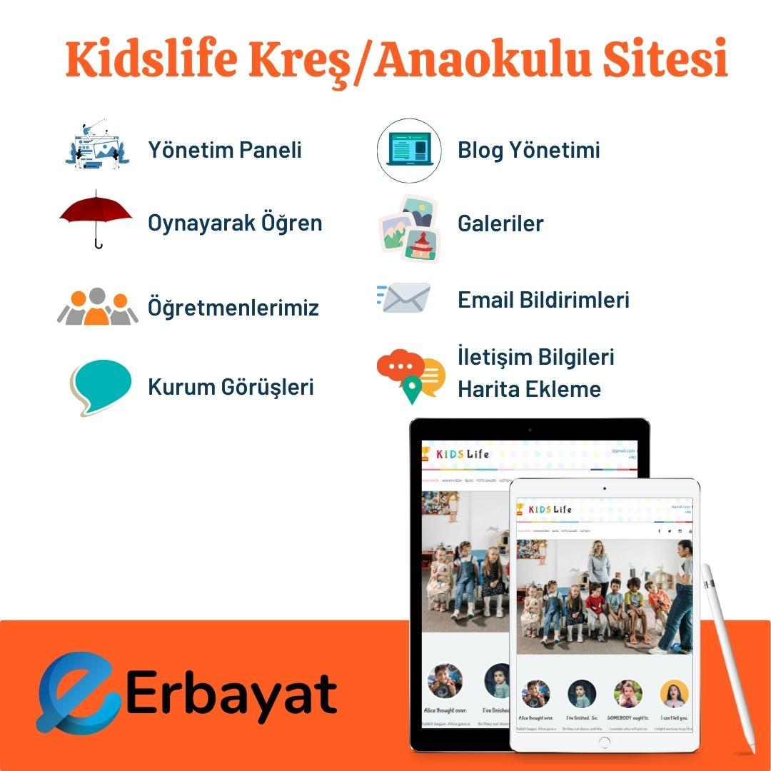 Kidslife Kreş/Anaokulu Sitesi