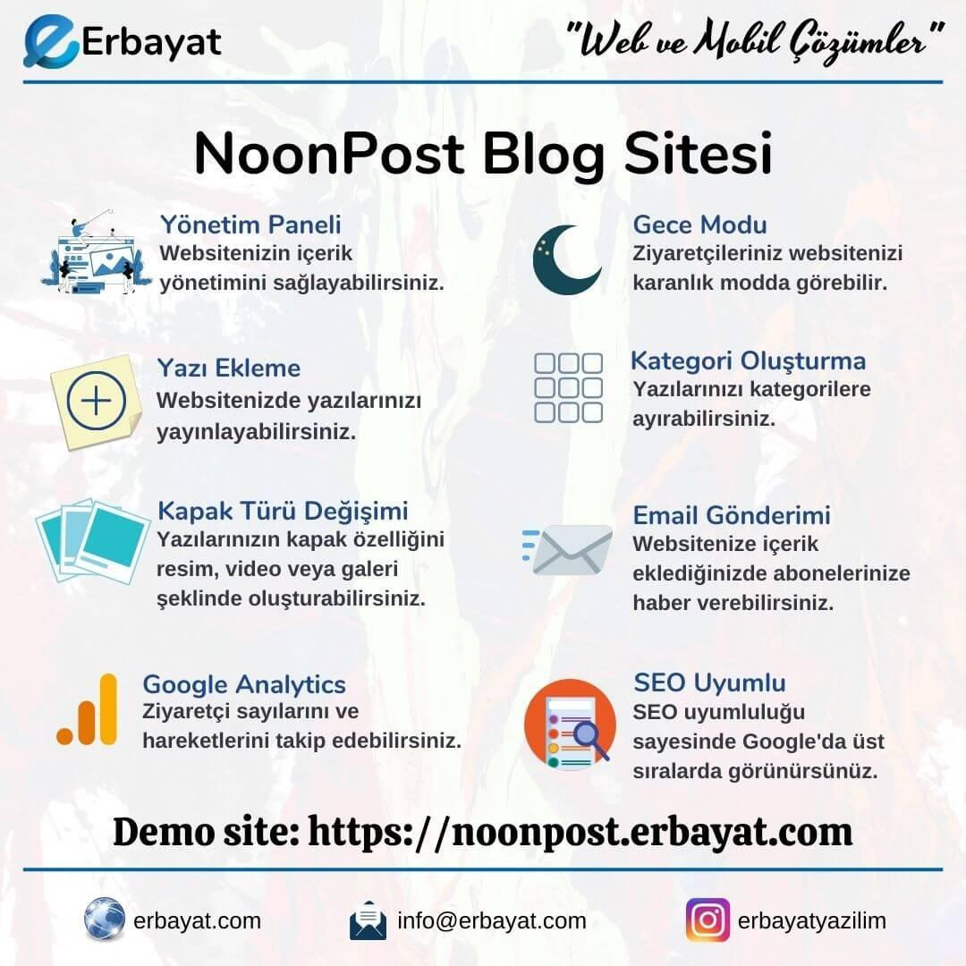 Noonpost Blog Sitesi