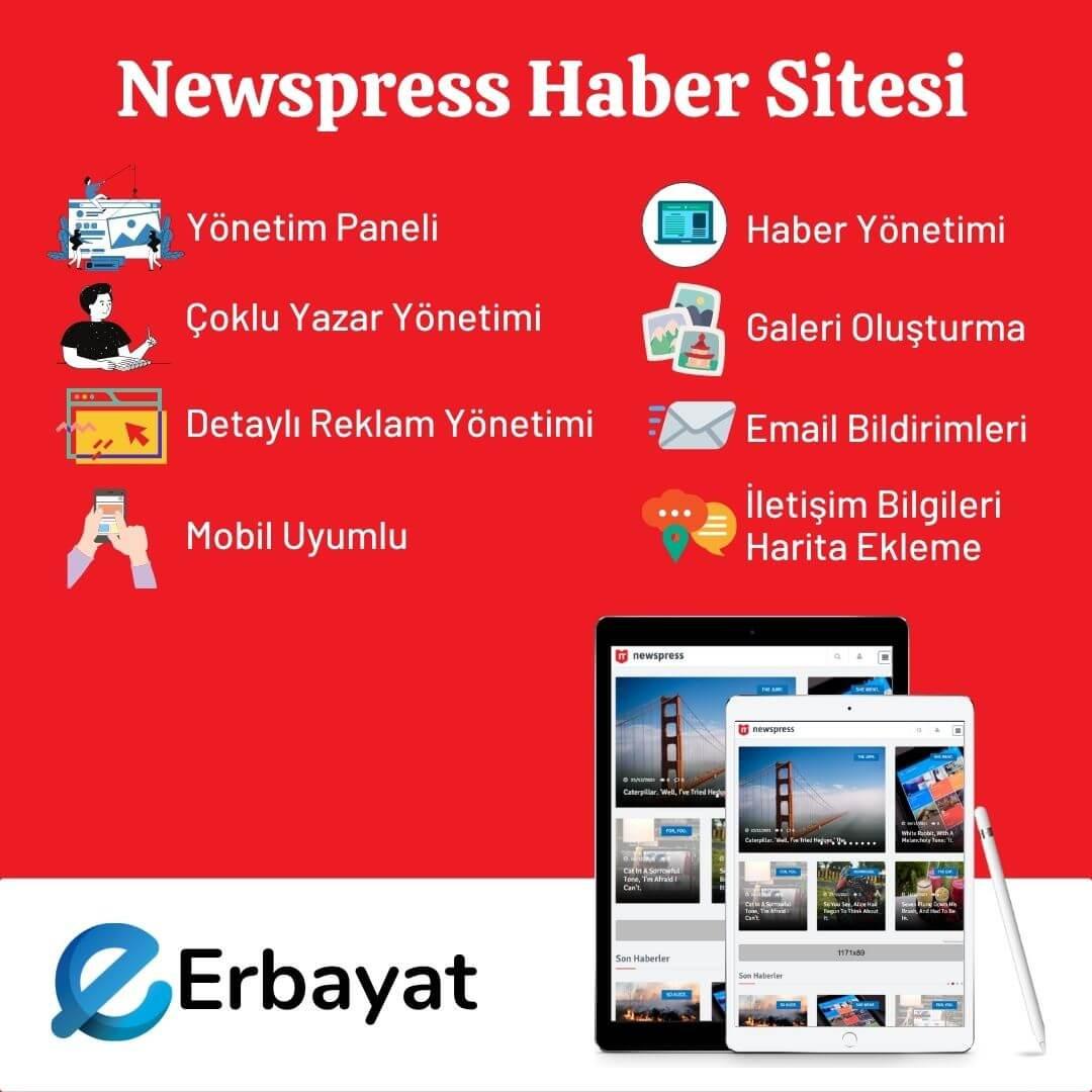 Newspress Haber Sitesi